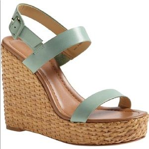 Kate Spade Seafoam Green Dancer Wedge
